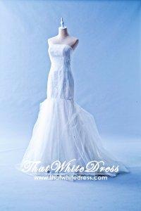 412W22 LL Oscar de La Renta Wedding Dress Designer Malaysia